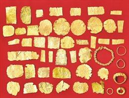 Bộ sưu tập vàng Văn hóa Óc Eo - Gò Tháp lập kỷ lục