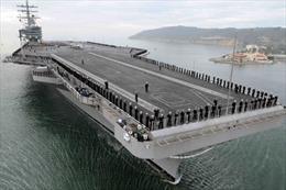 Mỹ điều tàu sân bay hạt nhân Ronald Reagan đến Nhật