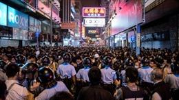 Thủ lĩnh biểu tình Hong Kong bị cấm hiện diện tại Mong Kok