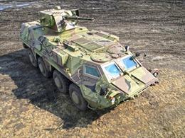 Ukraine tăng tốc chế tạo xe bọc thép