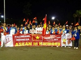 Khai mạc Đại hội Thể thao sinh viên Đông Nam Á tại Indonesia