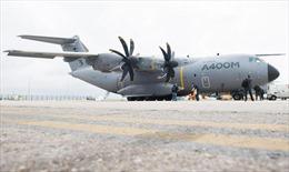 Đức nhận máy bay vận tải Airbus A400M đầu tiên