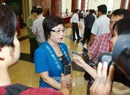 Đình chỉ tư cách đại biểu Quốc hội, bắt tạm giam bà Châu Thị Thu Nga