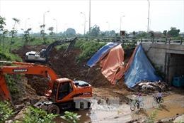 Lại vỡ đường ống dẫn nước sạch sông Đà về Hà Nội
