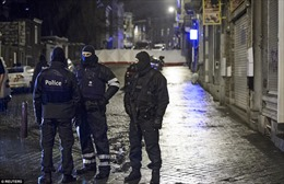 Hiện trường vụ tiêu diệt khủng bố ở Bỉ