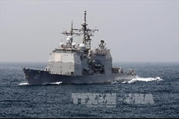 Mỹ triển khai tàu tuần dương tên lửa dẫn đường tại Yokosuka