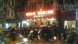 Một thanh niên tử vong tại khách sạn phố Lò Đúc