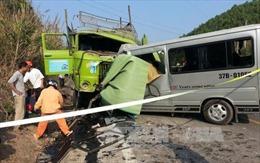 Vụ tai nạn tại Thanh Hóa là do lái xe ngủ gật