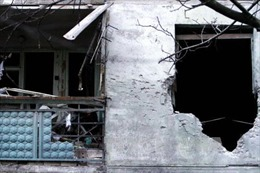 Binh sĩ Ukraine rút khỏi Debaltsevo