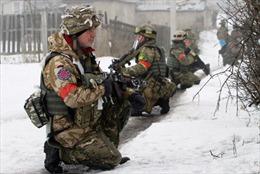Đức-Pháp-Ukraine kêu gọi ngay lập tức ngừng bắn ở Donbass