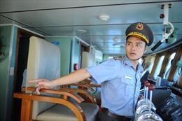 Chất 'thép' của thuyền trưởng tàu kiểm ngư 765