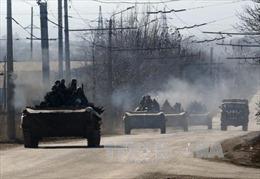 Quân đội Ukraine: Không thể rút vũ khí vì bị tấn công
