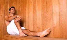 Tắm hơi giúp nam giới kéo dài tuổi thọ