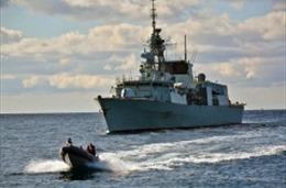Tàu chiến NATO tiến vào Biển Đen