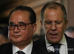 Ngoại trưởng Nga, Triều Tiên hội đàm