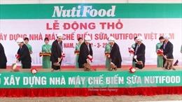 Khởi công xây dựng Nhà máy Nutifood tại Hà Nam