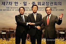 Trung-Nhật-Hàn nhất trí sớm tổ chức hội nghị thượng đỉnh ba bên