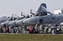 Mỹ điều máy bay A10 tham gia tập trận tại Ba Lan