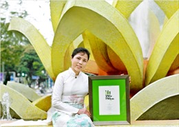 Họa sỹ Nguyễn Thu Thủy đoạt giải cuộc thi Thiết kế quốc tế