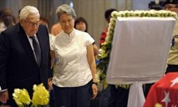 Lãnh đạo các nước tới viếng ông Lý Quang Diệu