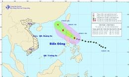 Tối nay bão Maysak đi vào Bắc Biển Đông