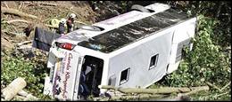 Trung Quốc: Tai nạn xe buýt làm 21 người thiệt mạng
