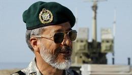 Iran triển khai tàu chiến tuần tra Vịnh Aden