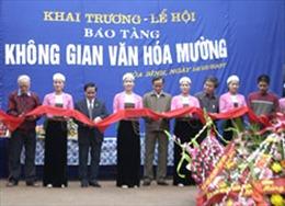 Khai trương Bảo tàng Di sản văn hóa Mường tại Hòa Bình