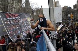 Tuần hành phản đối cảnh sát bắn người tại nhiều thành phố Mỹ