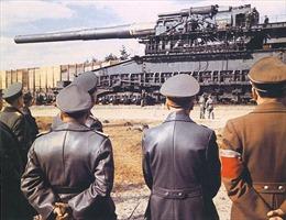 Thảm họa súng khổng lồ của Hitler