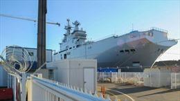 Pháp hoãn vô thời hạn việc giao tàu Mistral cho Nga