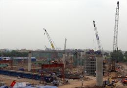 Nút giao QL 5 – cầu Thanh Trì hoàn thành cuối năm nay
