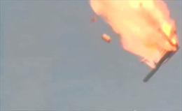 Rocket quân sự Nga rơi sau khi phóng