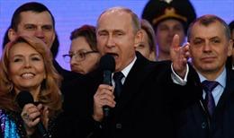 Ông Putin bóc mẽ đòn chống phá Nga của phương Tây