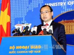 Việt Nam hoan nghênh nỗ lực quốc tế duy trì hòa bình ở Biển Đông