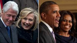 Nhà Clinton kiếm 25 triệu USD, ông Obama tiết kiệm 1.000 USD
