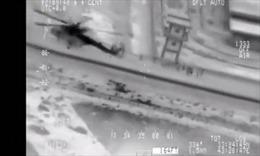 Trực thăng giải cứu lính Iraq thoát khỏi vòng vây IS