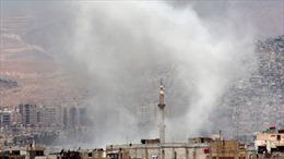 Đạn cối rơi gần Đại sứ quán Nga tại Syria