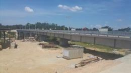 Đường sắt đi cầu Sông Bồ mới