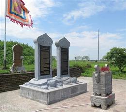 Chưa di dời 6 tấm bia chui ở đền Trần - Thái Bình