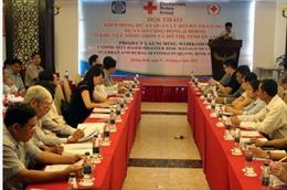 Khởi động dự án Quản lý rủi ro thảm họa dựa vào cộng đồng tại Quảng Bình