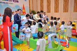 Tập đoàn Shinsegae hợp tác xây dựng thư viện đồ chơi