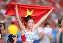 Tặng quà 'cô gái Vàng' của điền kinh Việt Nam