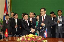 Việt Nam họp phân giới cắm mốc trên đất liền với Campuchia