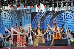 Đại nhạc hội nhân dịp Quốc khánh Mông Cổ