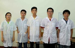 Đoàn Việt Nam dự Olympic Vật lý quốc tế đều giành huy chương