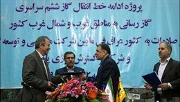 Iran ký thoả thuận xây đường ống khí đốt 2,3 tỷ USD