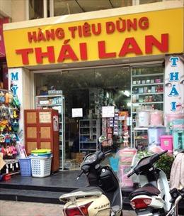 Hàng tiêu dùng Thái  chiếm dần thị phần