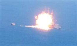 Video IS bắn rocket cháy tàu hải quân Ai Cập
