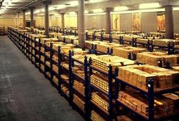 Dự trữ vàng Trung Quốc tăng gần 60%